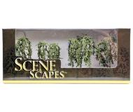 """модель Bachmann 32114 Серия SceneScapes. Готовое к установке на макет дерево. Willow Trees 2-1/4 - 2-1/2 """" в высоту. Упаковка 4 шт"""