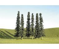 """модель Bachmann 32156 Серия SceneScapes. Готовое к установке на макет дерево. Conifers 5-6 """" в высоту. Упаковка 24 шт"""