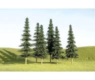 модель Bachmann 32157 Spruce Trees. Серия SceneScapes. Размер 7.6 - 10.2см. в высоту. Упаковка 36 шт