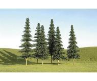 модель Bachmann 32158 Spruce Trees. Серия SceneScapes. Размер 12.7 - 15.2см. в высоту. Упаковка 24 шт
