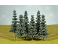 модель Bachmann 32212 Blue Spruce Trees. Серия SceneScapes. Размер 20.3 - 25.4см. Tall Упаковка 3 шт