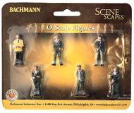 модель Bachmann 33162 Businessmen. Серия SceneScapes. Упаковка 6 шт