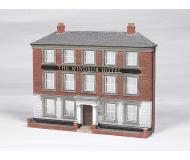 модель Bachmann 35002 Windsor Hotel False-Front (Thin-Profile) Building. Серия SceneScapes. Модель полностью собрана, размер 17.1 x 3.8 x 14.9см