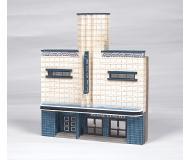 модель Bachmann 35004 Regal Cinema False-Front (Thin-Profile) Building. Серия SceneScapes. Модель полностью собрана, размер 15.5 x 5 x 18cм
