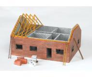 модель Bachmann 35105 Residential Building Construction Site. Серия SceneScapes. Модель полностью собрана, размер - 14.6 x 11.4 x 9.5см