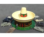 модель Bachmann 35204 Ресторан Sombrero. Модель полностью собрана, размер - 14.9 x 14.9 x 10.2см