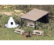 модель Bachmann 42213 Park Accessories. Picnic Set