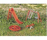 модель Bachmann 42214 Park Accessories. Playground Equipment. Упаковка 4 шт