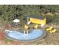 модель Bachmann 42215 Park Accessories. Swimming Pool & Accessories