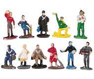 модель Bachmann 42502 Assorted Figures. Figure, набор № 2. Упаковка 12 шт