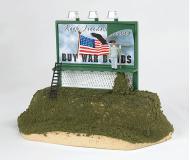 модель Bachmann 42603 Williams Operating Billboard. Buy War Bonds