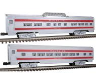 модель Bachmann 43048 Серия Williams Golden Memories. Alum Streamliner Passenger Add-On. Принадлежность Santa Fe. В наборе: Coach & Vista-Dome (60')