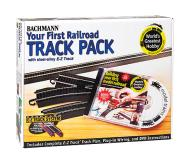 модель Bachmann 44497 Your First Railroad Track Pack. Принадлежность Серия E-Z Track System
