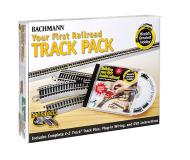 модель Bachmann 44596 Your First Railroad Track Pack. Серия E-Z Track. For 4 x 8 Layout