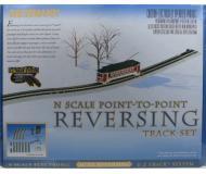 модель Bachmann 44847 Auto-Reversing System. Серия E-Z Track. Nickel Silver Rail & Gray Roadbed