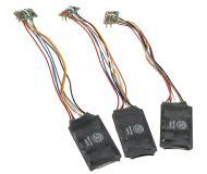 модель Bachmann 44916 E-Z Command 1-Amp DCC Decoder (28/128 Speed Step). With NMRA 8-Pin Plug 16 x 25 x 5mm Упаковка 3 шт
