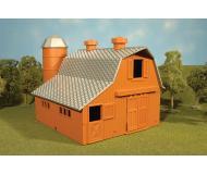 модель Bachmann 45007 Серия Plasticville. Полностью собранное здание. Dairy Barn