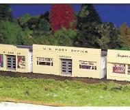 модель Bachmann 45144 Серия Plasticville Набор для сборки (KIT) - Post Office. Размер 5.5 x 11.8см