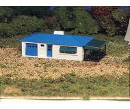 модель Bachmann 45154 Серия Plasticville. Набор для сборки (KIT) - Ranch House. Размер 5.7 x 14см