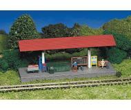 модель Bachmann 45194 Серия Plasticville. Набор для сборки (KIT) - Station Platform. Размер 5.5 x 18см