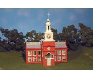 модель Bachmann 45303 Серия Plasticville. Полностью собранное здание. Town Hall