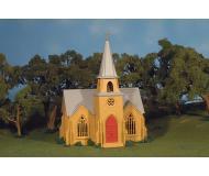 модель Bachmann 45308 Серия Plasticville. Полностью собранное здание. Country Church