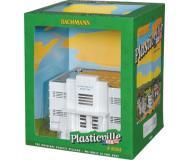 модель Bachmann 45312 Серия Plasticville. Полностью собранное здание. Hospital w/Furniture