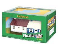 модель Bachmann 45313 Серия Plasticville. Полностью собранное здание. Cape Cod House. Упаковка 2 шт