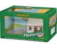 модель Bachmann 45316 Серия Plasticville. Полностью собранное здание. House Under Construction