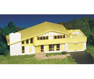 модель Bachmann 45432 Серия Plasticville. Набор для сборки (KIT) - современный дом. Размер 7.3 x 22.3см