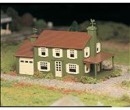 модель Bachmann 45622 Серия Plasticville. Набор для сборки (KIT) Two-Story House