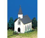 модель Bachmann 45815 Country Church. Модель полностью собрана. w/Figure Размер 8.3 x 6.4см