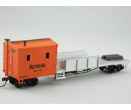 модель Bachmann 46115 Crane Car & Boom Tender #15449 Amtrack