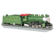 модель Bachmann 50402 USRA 0-6-0 w/Smoke & Short Haul Tender Smoky Mountain #99