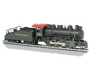 модель Bachmann 50615 Маневровый паровоз USRA 0-6-0 с дымогенератором. Принадлежность Pennsylvania #3234