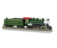модель Bachmann 51504 Паровоз Baldwin 2-6-2 Prairie с дымогенератором. Принадлежность Southern