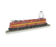 модель Bachmann 65302 Электровоз GG1 со звуком. Установлен звуковой цифровой декодер DCC. Принадлежность Pennsylvania Railroad #4913