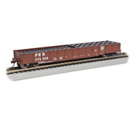 модель Bachmann 71912 ACF 50ft.6in. Drop-End Gondola PRR with Tyre Load