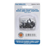 модель Bachmann 78979 Сцепка Hook-and-Loop для моделей серии Thomas & Friends, 3 пары