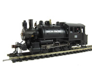 модель Bachmann 81813 Маневровый паровоз-танк  Saddle. Принадлежность   Union Pacific. Установлен цифровой декодер DCC.