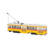 модель Bachmann 84604 Трамвай Peter Witt с декодером. Установлен цифровой декодер DCC. Серия Spectrum. Принадлежность Baltimore Transit Company