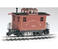 "модель Bachmann 93120 4-Wheel Wood Bobber Caboose. Принадлежность Eastern Tennessee & Western North Carolina ""Tweetsie"""