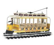 модель Bachmann 93938 Open Streetcar w/Lights. Принадлежность United Traction #504