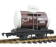 модель Bachmann 98088 Tank Car - Li'l Big Haulers. Принадлежность Bud's Chocolate Sauce