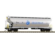 модель Bachmann CF00604 Циллиндрический хоппер-вагон тип  L18 #8101331 для перевозки зерна