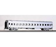 модель Bachmann CP01019 Пассажирский вагон YZ22, серебряный