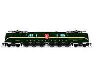 модель BLI 3446 Электровоз GG1. Установлен цифровой звуковой декодер. Серия Paragon 3. Принадлежность Pennsylvania Railroad #4807