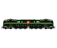 модель BLI 3447 Электровоз GG1. Установлен цифровой звуковой декодер. Серия Paragon 3. Принадлежность Pennsylvania Railroad #4821