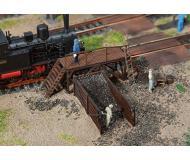 "модель Faller 120222 Small Coal Handling Facility. Набор для сборки (KIT) - 5-5/8 x 1 x 1-1/2""  14.5 x 2.6 x 3.7см."