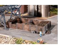 модель Faller 120254 Coal Bunker. Набор для сборки (KIT)  19 x 10 x 3см.